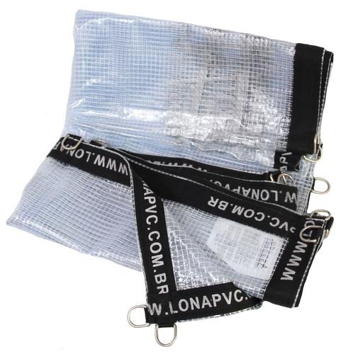 Lona Transparente Premium 3x2,5 Mts Pvc Vinil Emborrachada