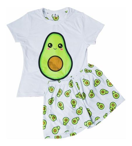 Pijamas Mujer Aguacate