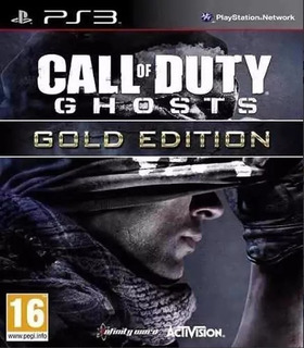 Call Of Duty Ghosts Edicion Oro Ps3