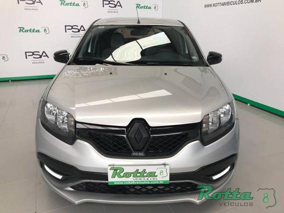 Renault Sandero Rs 2.0 - Prata - 2016
