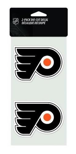 Calcomanía Troquelada De 2 Piezas Nhl Philadelphia Flyers, 4