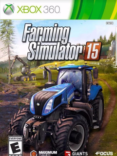 Farming Simulator 15-xbox 360-midia Digital