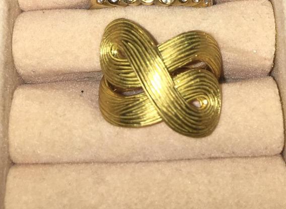 Anel H.stern Original Ouro Amarelo