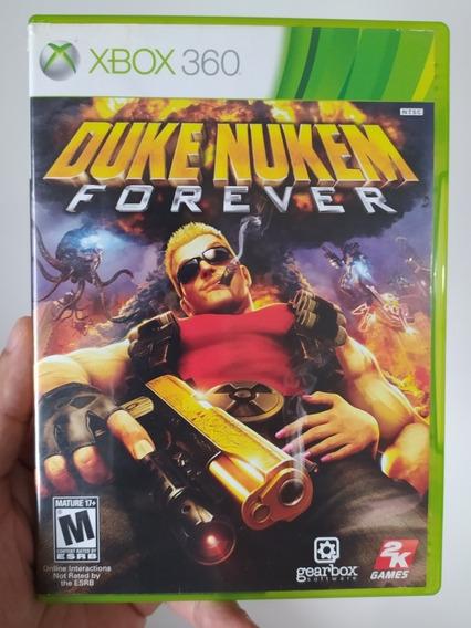 Jogo Duke Nukem Forever Original Mídia Física Xbox 360
