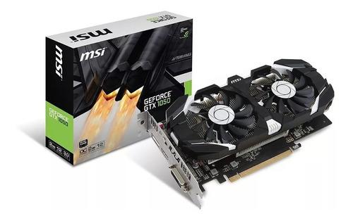 Tvga Msi Nvidia Gtx 1050 2gb Oc Gddr5