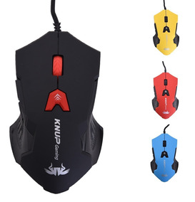 Mouse Computador Usb Gamer 2.0 Led 2400dpi 6 Botões Luminoso