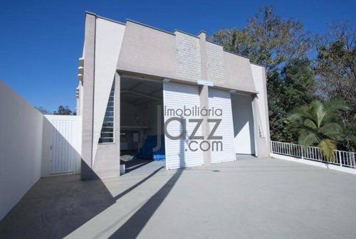 Barracão À Venda, 160 M² Por R$ 580.000,00 - Residencial Alvorada - Bragança Paulista/sp - Ba0040