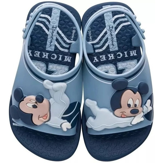 Chinelo Sandália Infantil Mickey Minnie Bebê Disney Crocs