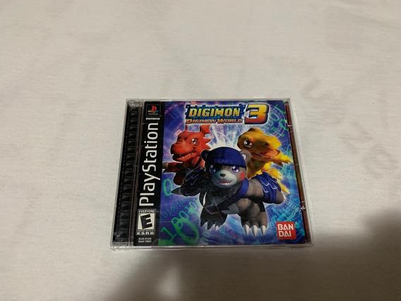 Digimon World 3 Ps1 Completo Americano