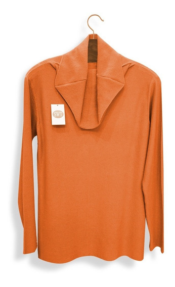 Sweater Polerón Pullover Dama Panal Variedad De Colores