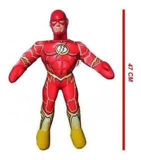Flash Muñeco Soft Liga De La Justicia 47cm S/sonido 5122 Edu