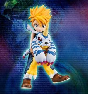 Figura Matt Y Gabumon - Digimon 11cm