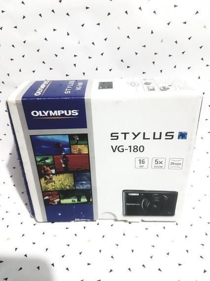 Camera Stylus Olympus Nova Na Caixa 16 Mp Auto Magic