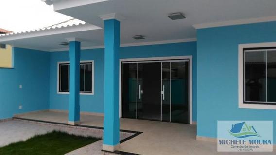 Casa Em Condomínio Para Venda Em Araruama, Barbudo (parati), 3 Dormitórios, 1 Suíte, 2 Banheiros, 3 Vagas - 297
