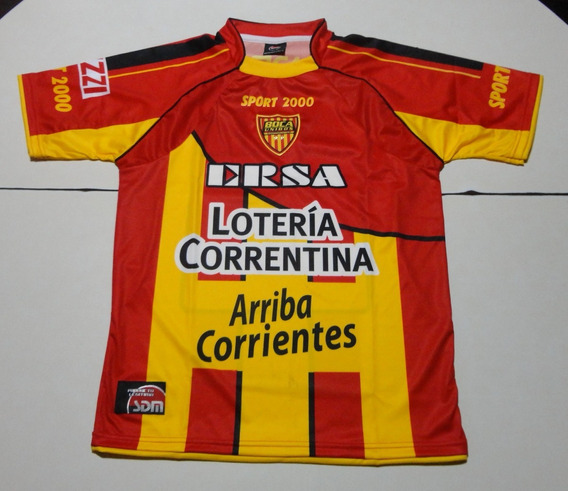 Camiseta De Boca Unidos Titular Marca Sport 2000, Talle S