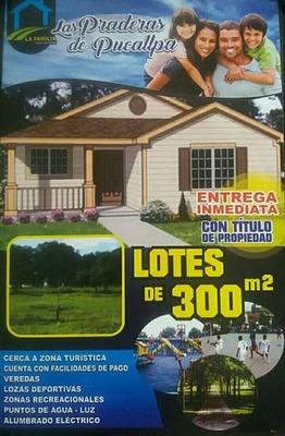 Terrenos De 300 M2 A Solo S/.8490.00 Solo Por Diciembre