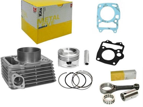 Cilindro Do Motor Kit Ybr / Factor / Xtz125 + Juntas + Biela