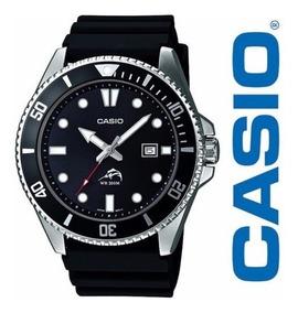 Relógio Pulseira De Resina Sea Duro Casio Mdv106-1a 200m.