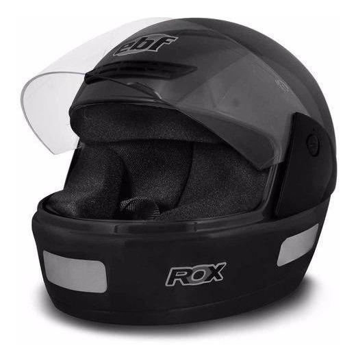 Capacete Moto Masculino Ebf Modelo Rox Várias Cores 56/58/60