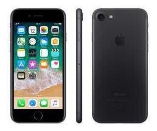Apple iPhone 7 Original 32 Gb Preto Matte Sem Detalhes