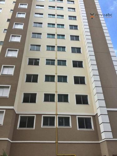 Apartamento Com 2 Dormitórios À Venda, 47 M² Por R$ 240.000,00 - Vila Homero Thon - Santo André/sp - Ap1354