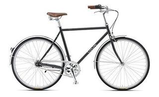 Viva Papa 7 Metalizado Gris Ciudad 700 C Bicicleta