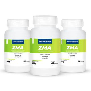 Combo 3x Zma Newnutrition - Pronta Entrega!