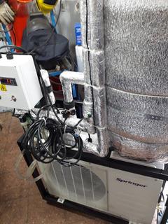 Chiller Banco De Agua Helada Unidad Nueva, Automatizado