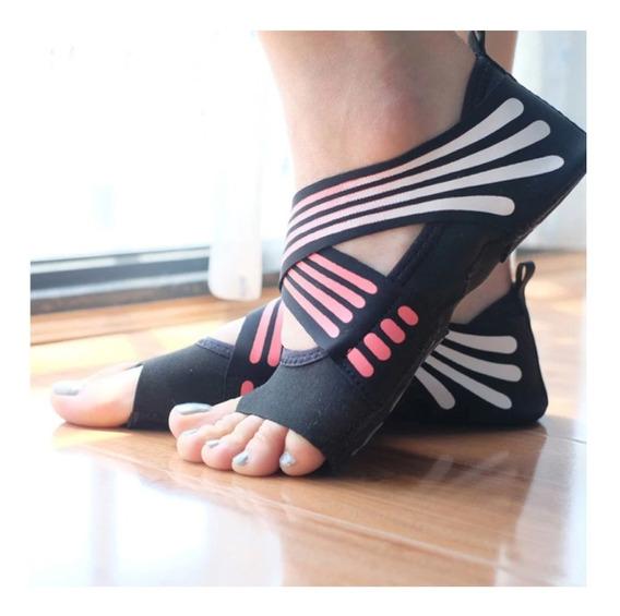 Zapatillas Metatarseras Dedos Libres Para Yoga Jazz Danza