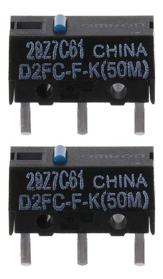 2 Botão Micro-switch Omron D2fc-f-k(50m) - Frete 12,99
