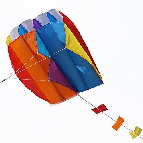 Besra Colorful Parafoil Kite Con Long Tail Fácil De Volar Ou