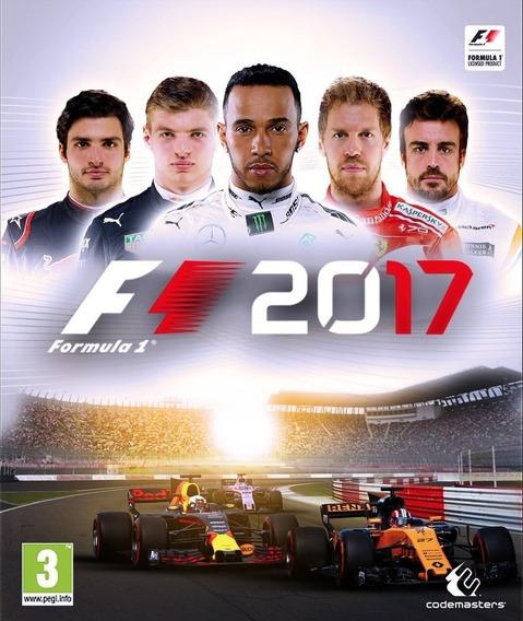 F1 2017 + 2 Jogos (mídia Física) Pc - Dvd