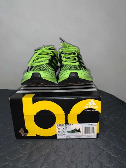 Tênis adidas Energy Boost Verde * Promo Até Dia 28/5- R$260