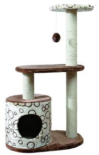 Trixie Pet Products Casta Cat Tree, Brown/beige