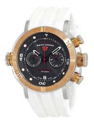 Reloj Swiss Legend Aqua Diver Cronógrafo Sl-10622sm-sr-014