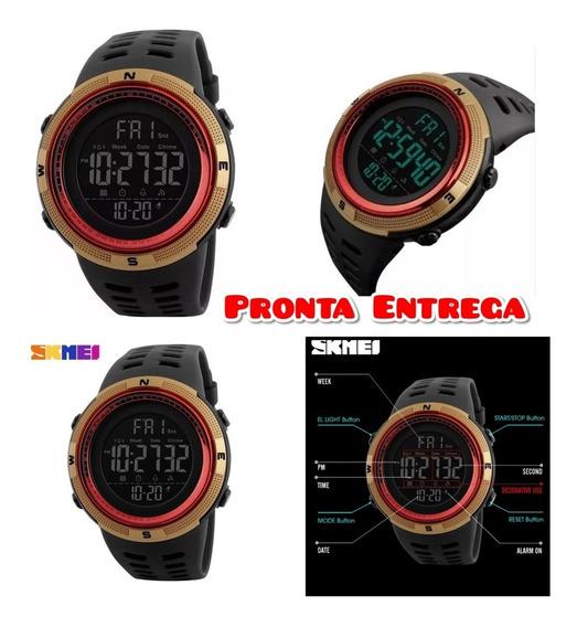 Relógio Digital Masculino Militar Original Á Prova D