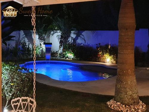 Imagem 1 de 15 de Casa 5 Dormitórios Condomínio Morada Das Flores Aldeia Da Serra - Sh21119