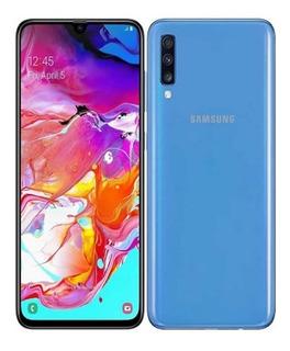 Samsung A705 Galaxy A70 Dual Azul Mfshop