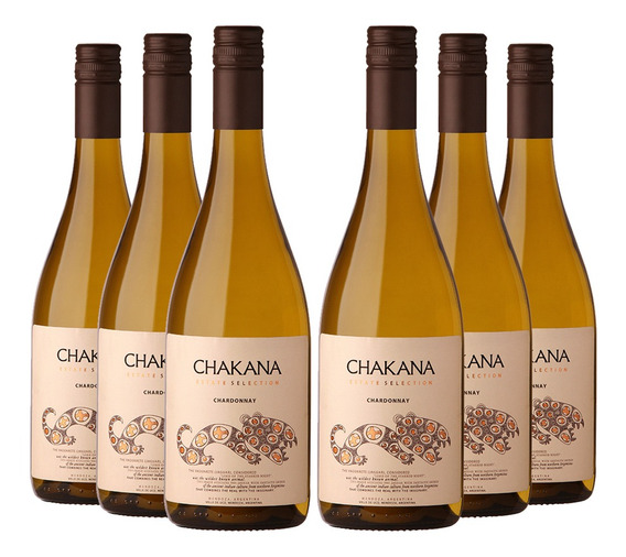 Vino Blanco Chardonnay Chakana Estate Selection (6x750ml) Va
