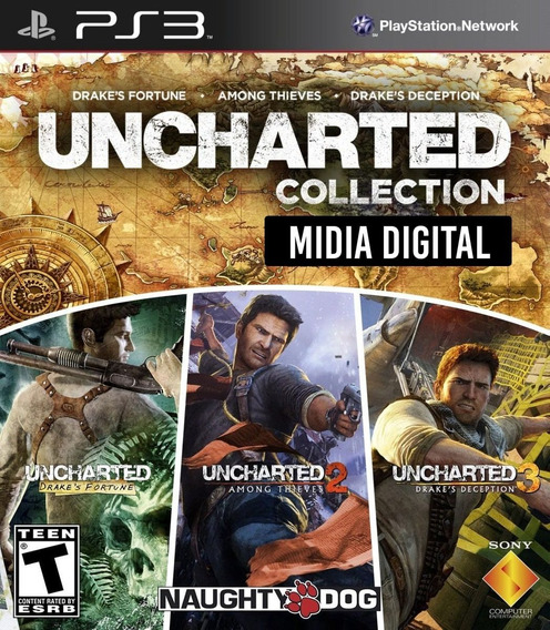 Ps3 - Uncharted Trilogia