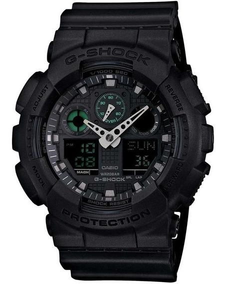 Relógio Casio G-shock Ga-100mb-1adr + Nfe + Garantia Ga100