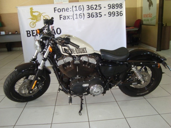 Harley Davidson Xl 1200 Branco 2014