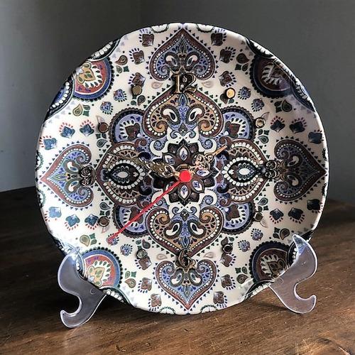 Imagem 1 de 3 de Relógio Mandala 20cm