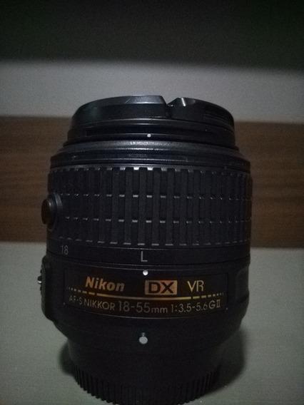 Lente Nikon 18-55 1:3.5 Dx Vr (própria Para Modelos Cropped)