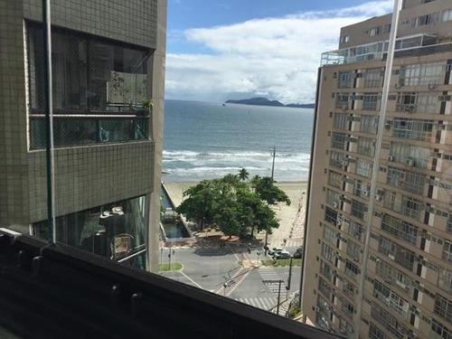 Imagem 1 de 14 de Lindo Apto Terraço Vista Mar 4 Suites 4 Gars Junto Praia C5