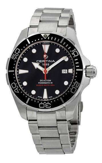 Relógio Certina C0324071105100 Ds1 Automático Action Diver