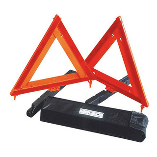 Un Par De Triangulos Reflejantes 17 Pulgadas Mkl