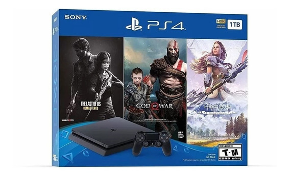 Playstation 4 Ps4 Slim Con 3 Juegos