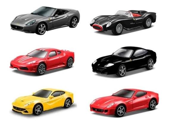 Clarín Colección Ferrari Gt Set 3 De 6 Autos