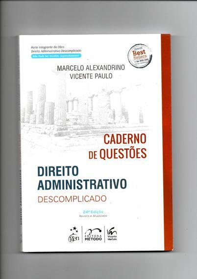 Caderno De Questões Do Direito Administrativo Descomplicado